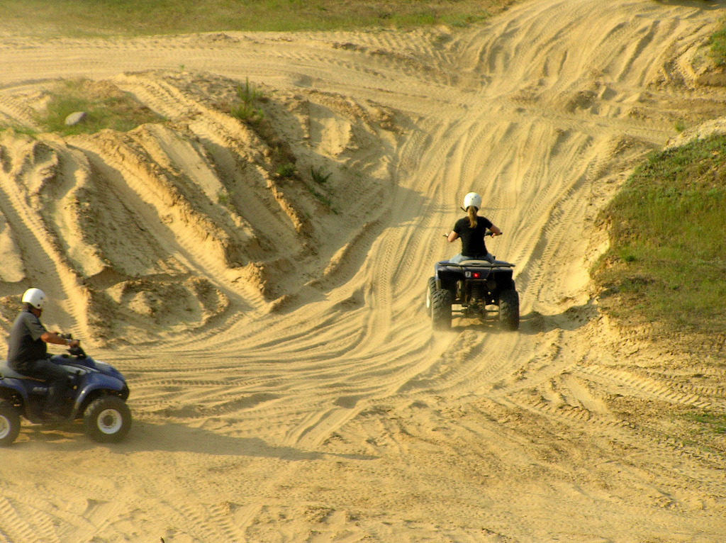 Quad Sandfläche